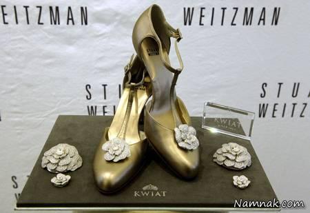 گرانترین کفش های زنانه با نگین الماس