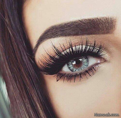 چگونه چشم های درشت و برجسته را آرایش کنیم؟