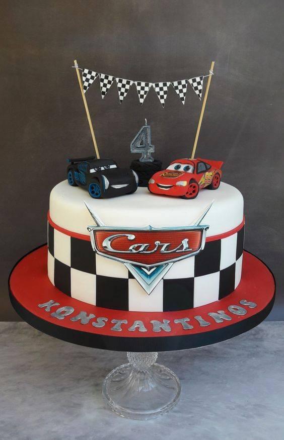 کیک تولد ماشین ها