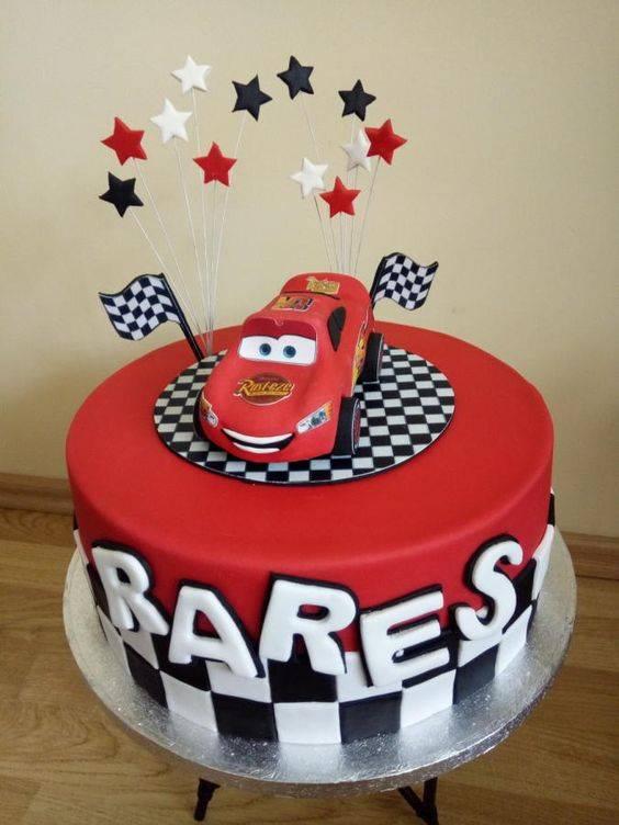 کیک تولد پسربچه