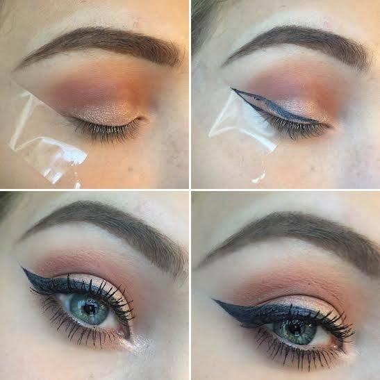 خط چشم کشیدن از تکنیک های آرایش حرفه ای در خانه + تصاویر