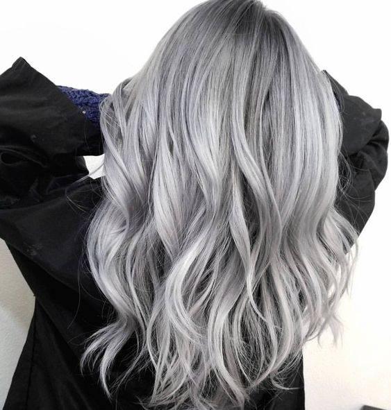 رنگ مو یخی