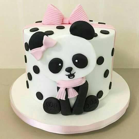 کیک تولد پاندا