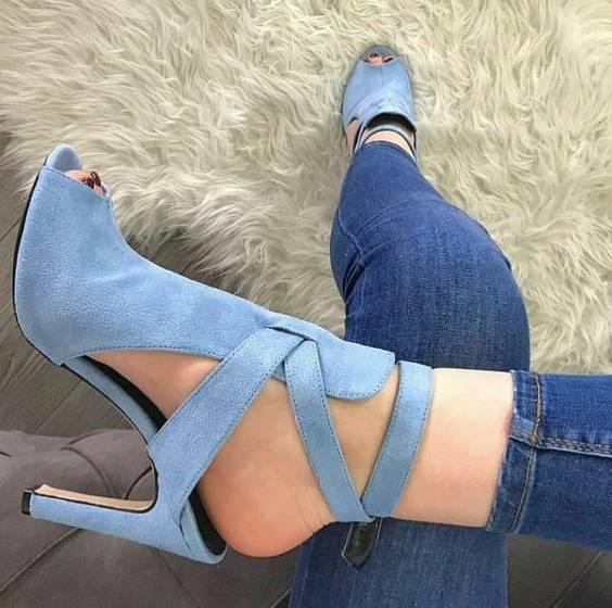 کفش جلو باز مجلسی