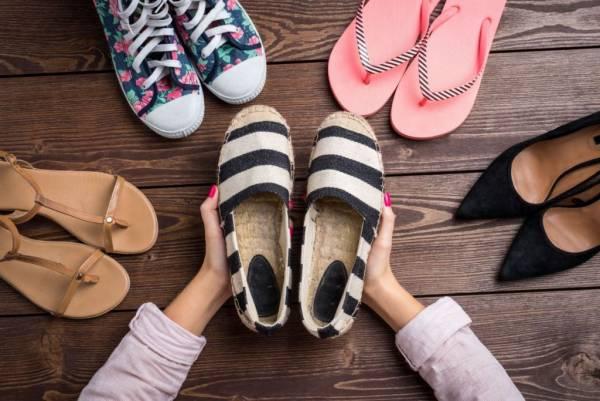 ست کفش با لباس