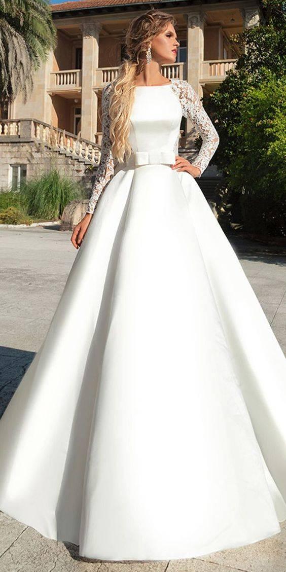 لباس عروس ساده اروپایی