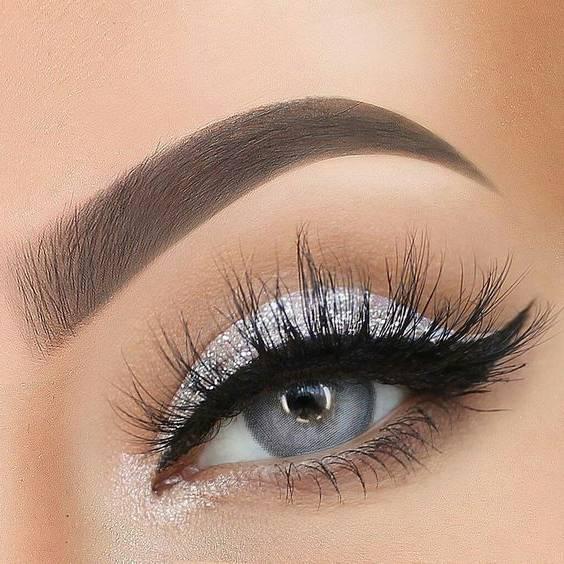 آرایش چشم زمستانی