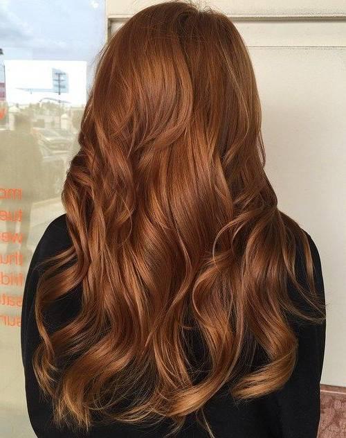 رنگ مو قهوه ای سوخته