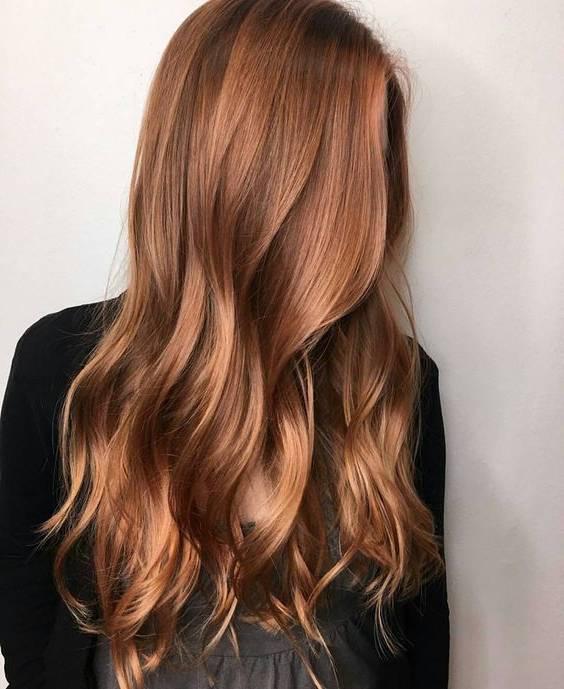 رنگ مو موکای روشن