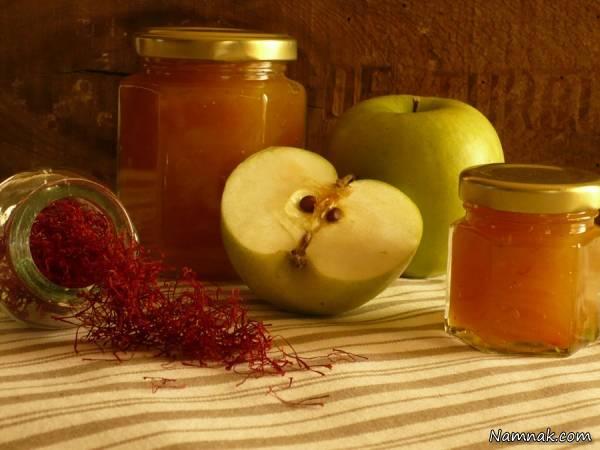 طرز درست کردن مربای سیب