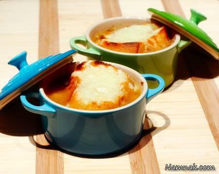 سوپ آویشن و سوپ پیاز
