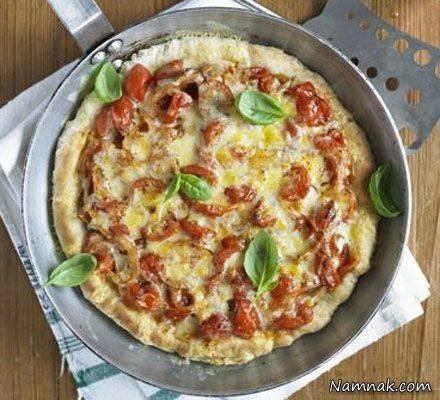 پیتزای خانگی بدون فر