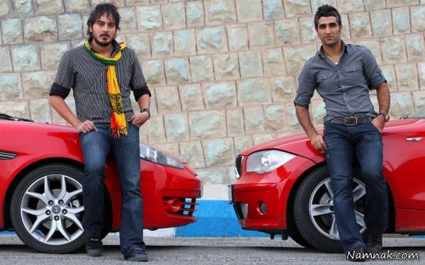پژمان جمشیدی و نیما شاهرخ شاهی