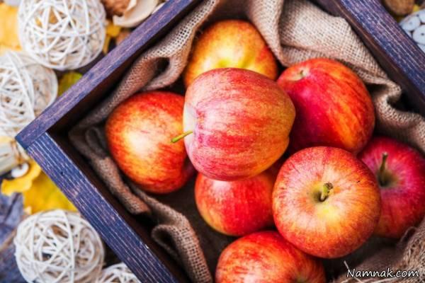مصرف سیب