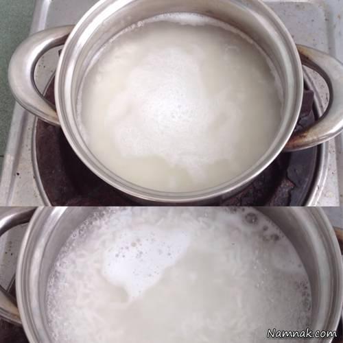 میزان لازم برنج در شله زرد