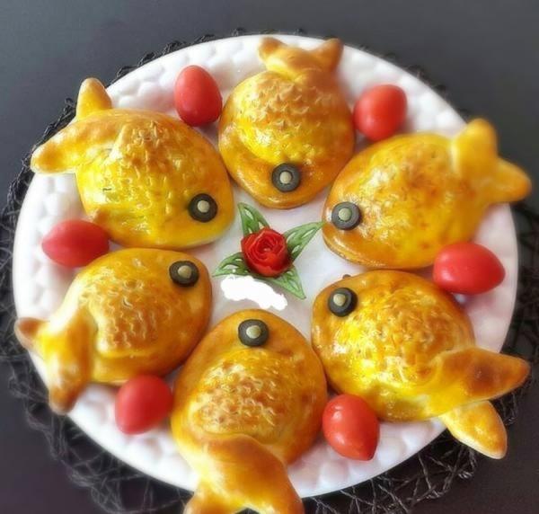 پیراشکی مرغ