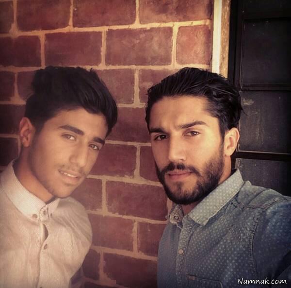 حسین حسینی و برادرش