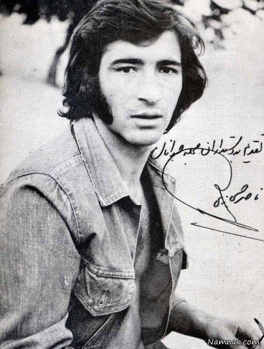 عکس قدیمی ناصر حجازی