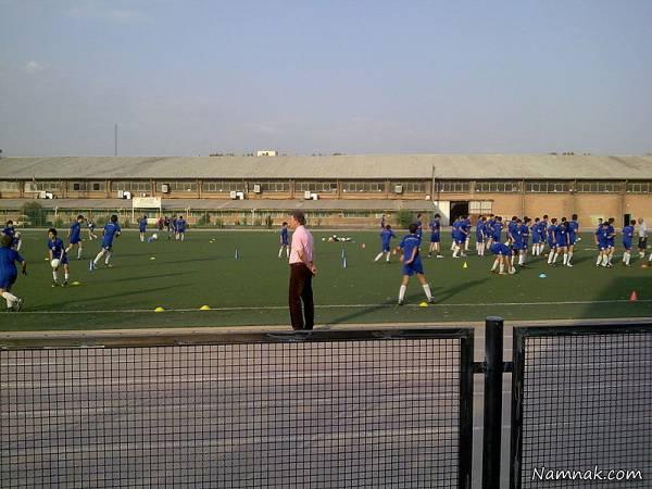 کمپ فوتبال ناصر حجازی