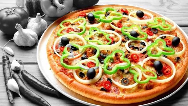پیتزا سبزی رژیمی