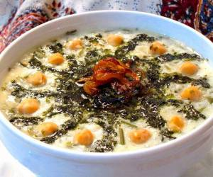"""آش دوغ شیرازی"""" را با این روش ساده تهیه کنید"""