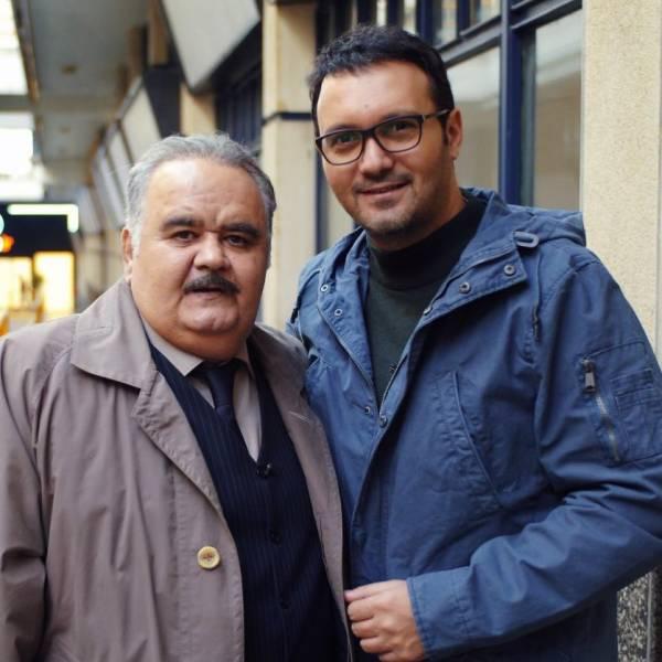 کامبیز دیرباز و اکبر عبدی