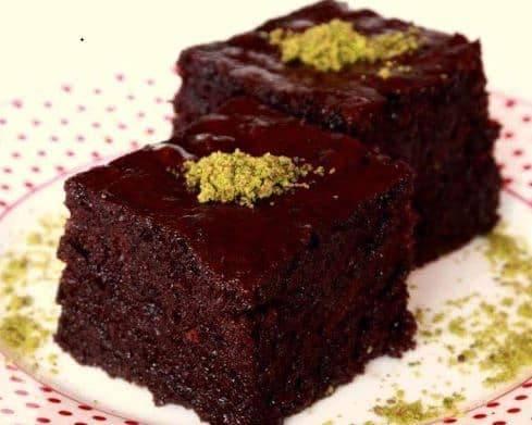دستور تهیه کیک خیس شکلاتی ترکیه ای بسیار خوشمزه