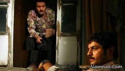 کامبیز دیرباز و سام درخشانی در سریال نابرده رنج