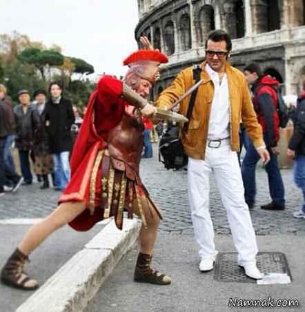 حسام نواب صفوی در رم