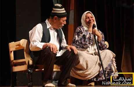 علی نصیریان در تئاتر