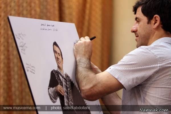 کریم باقری در کنسرت رحیم شهریاری