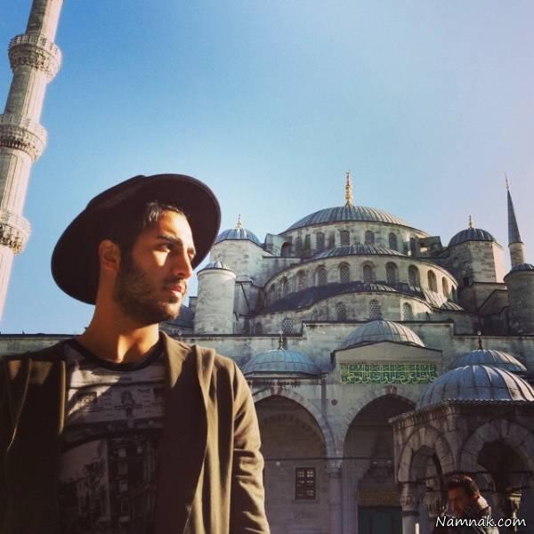 رهام هادیان در ترکیه