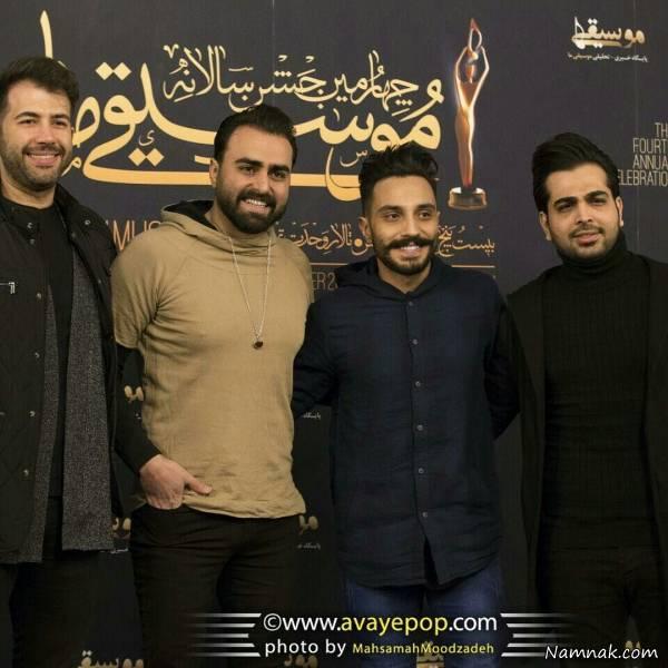 علی رهبری و آرین بهاری در جشنواره