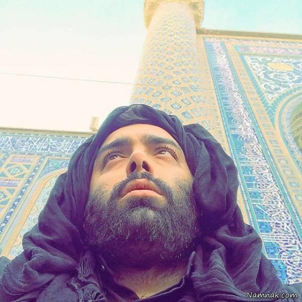 مسعود صادقلو در مشهد