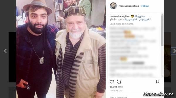 مسعود صادقلو و محمدرضا شریفی نیا