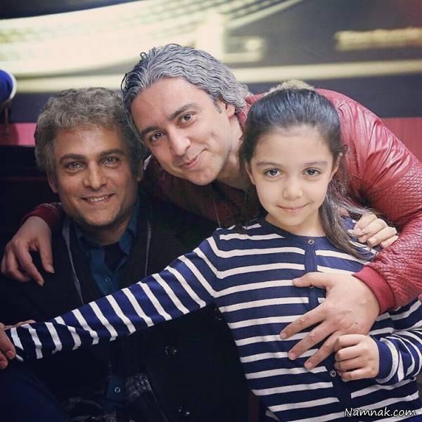 حسین یاری ، مازیار فلاحی و دخترش