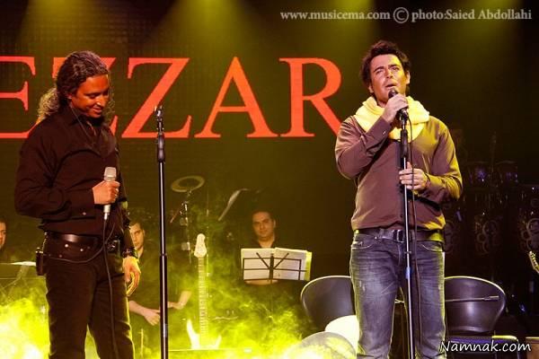 محمدرضا گلزار در کنسرت مازیار فلاحی
