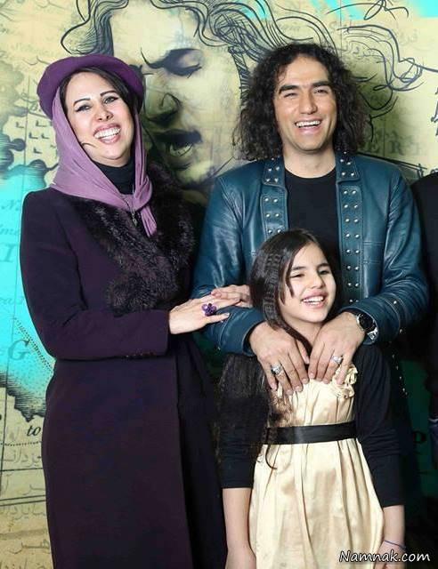 همسر و دختر رضا یزدانی