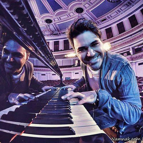 پیانو زدن پوریا حیدری