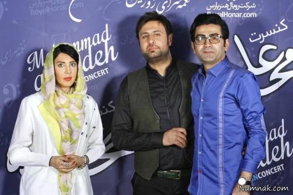 فرزاد حسنی و لیلا بلوکات در کنسرت محمد علیزاده