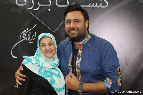 محمد علیزاده و مادرش