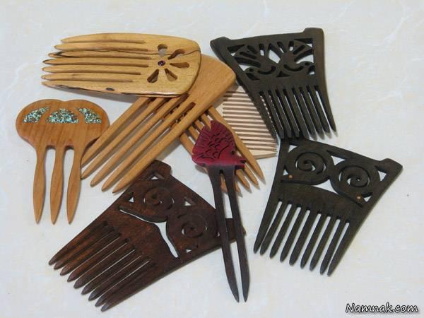 شانه ها چوبی