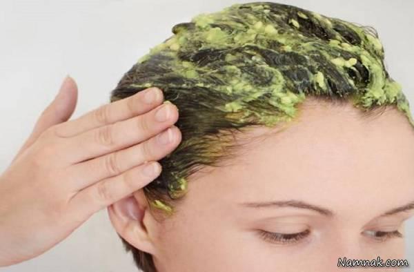 صاف کردن مو با روش گیاهی