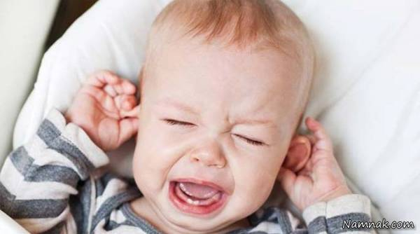 علل گوش درد در کودکان