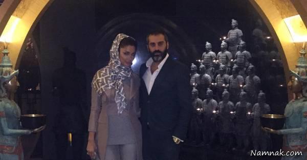 عکسهای علیرام نورایی و همسرش
