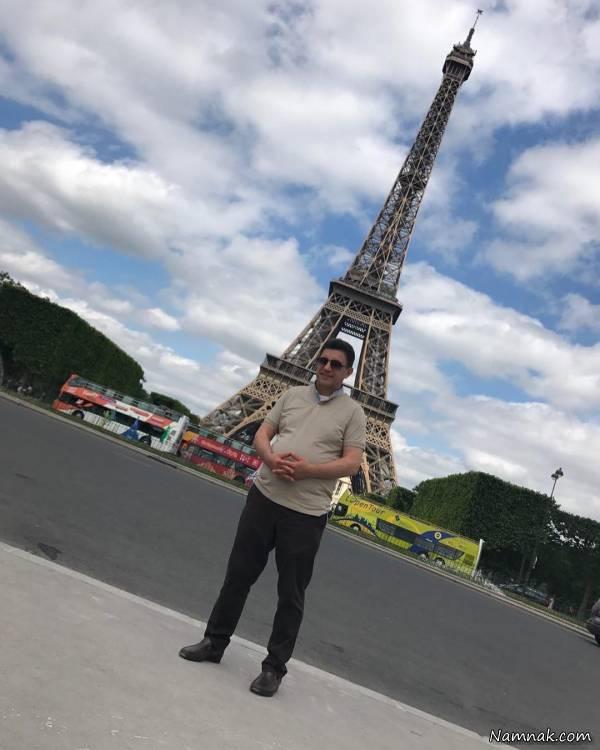 امیر قلعه نویی در پاریس