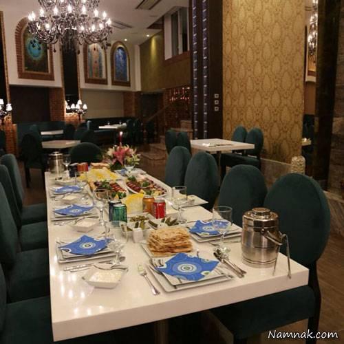 رستوران زیبای قلعه نویی