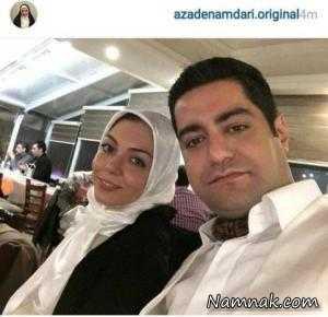 عکسهای بدحجاب یا بدون حجاب بازیگران مشهور ایرانی + تصاویر