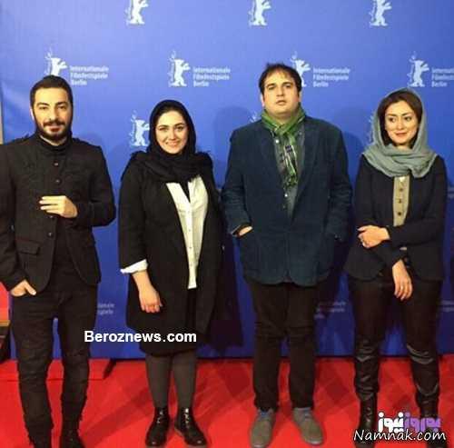 نوید محمدزاده و باران کوثری در برلین
