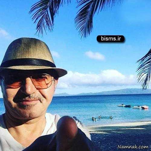 فریدون آسرایی در ساحل